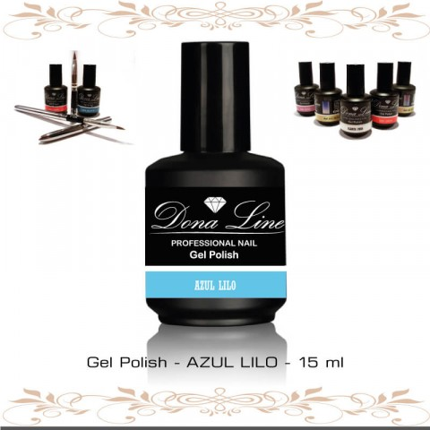 Gel Uñas TENERIFE UV Polish - Azul
