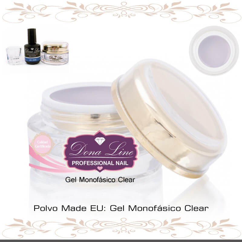 Gel Uñas Monofasico Clear Tenerife