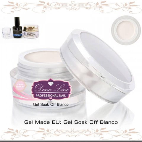 GEL SOAK OFF BLANCO FRANCESA