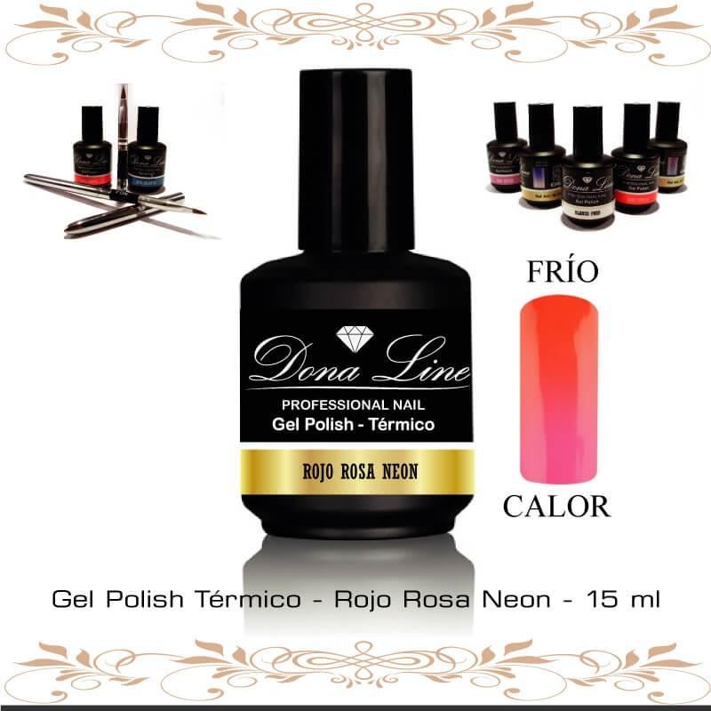 Esmalte tenerife Semi Termico - Rojo Rosa Neon