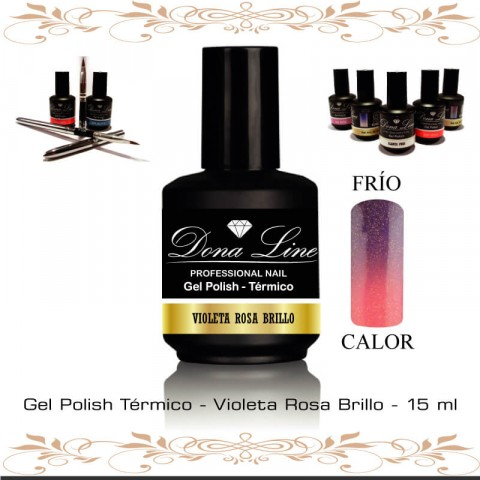 Esmalte Semi Termico - Violeta Rosa Brillo
