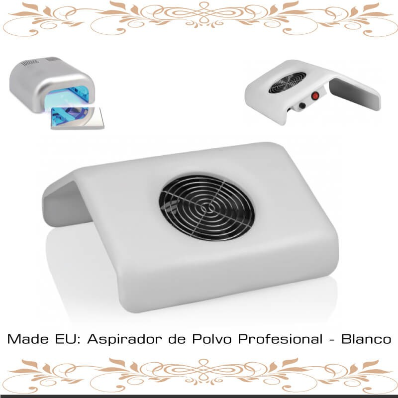 Aspirador de Polvo Profesional - Blanco -TENERIFE