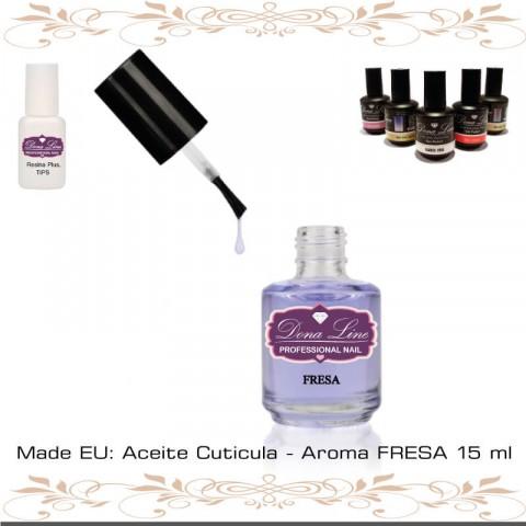Aceite Cuticula - Aroma FRESA 15 ml
