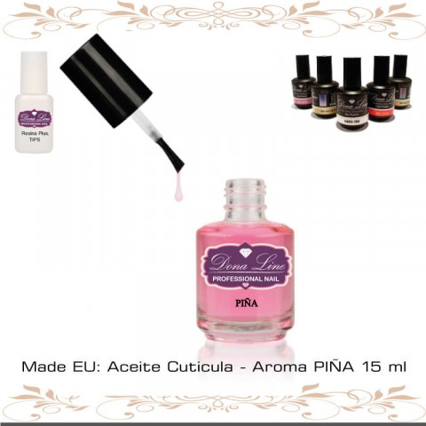 Aceite Cuticula - Aroma PIÑA 15 ml