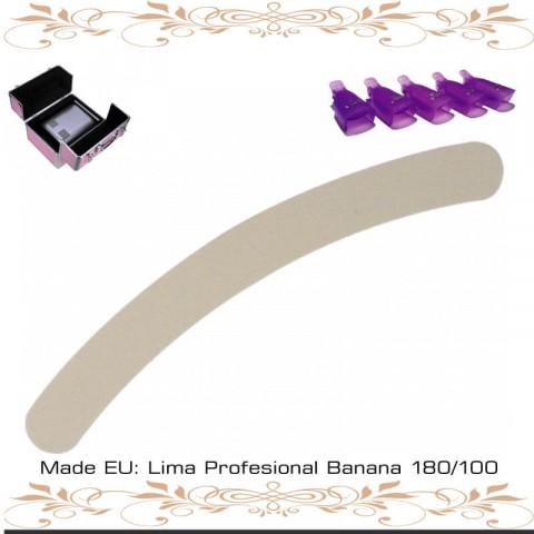 Lima Profesional Banana 180/100