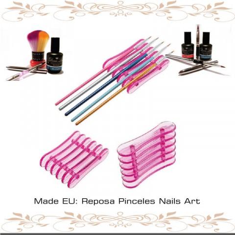 Reposa Pinceles Nails Art