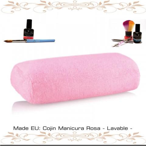 Cojín Manicura Rosa - Lavable -