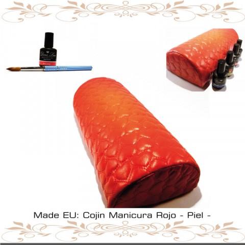 Cojin Manicura Rojo - Piel -