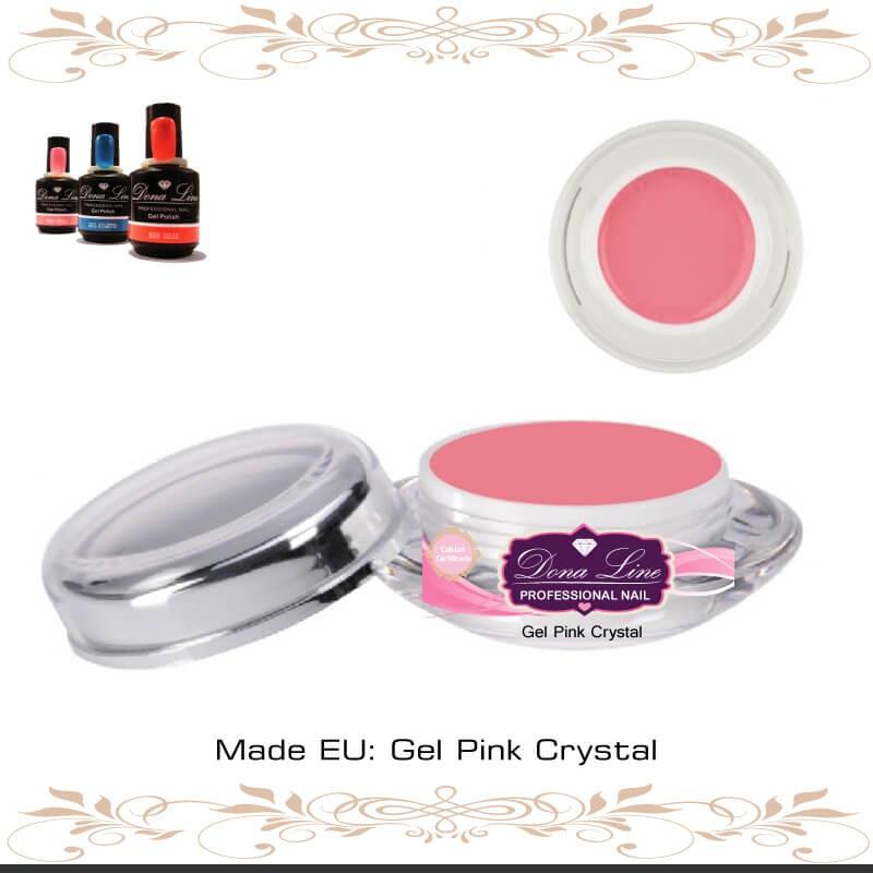 Gel Pink Crystal Tenerife