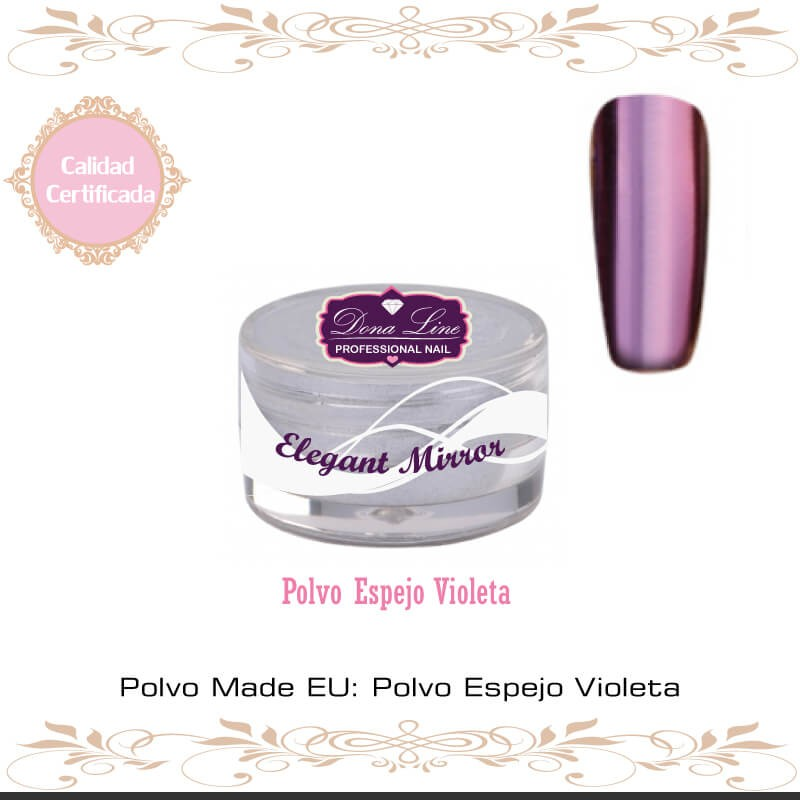 Polvo Espejo Tenerife Violeta