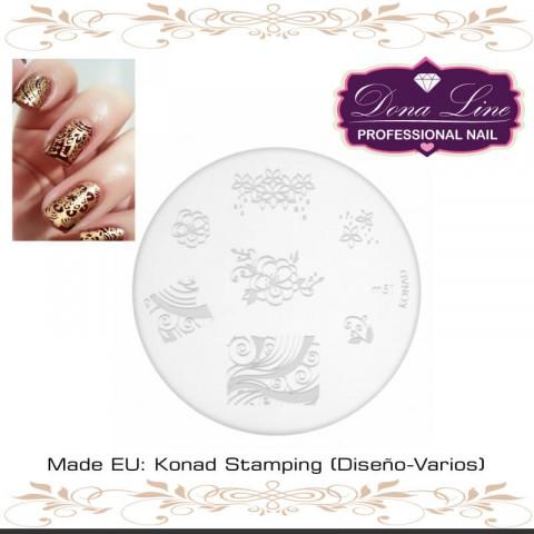 Konad Stamping TENERIFE (Diseño-Varios)