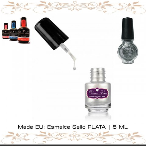 Esmalte Sello PLATA | 5 ML tenerife