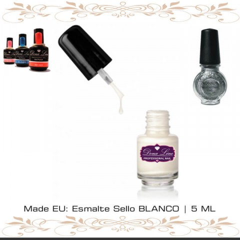 Esmalte Sello BLANCO | 5 ML TENERIFE
