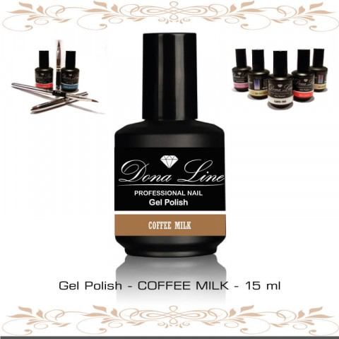 Esmalte Semi - Polish Coffee Milk