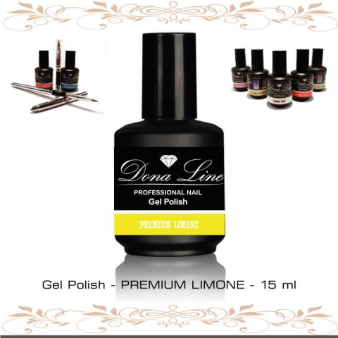 Esmalte Semi - Polish Premium Limone