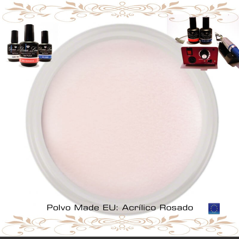 POLVO ACRILICO ROSADO | TENERIFE | DONALINE.COM