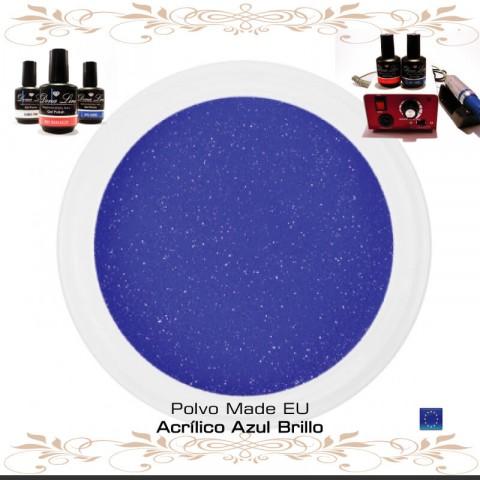 POLVO ACRILICO AZUL BRILLO - 3 Gr