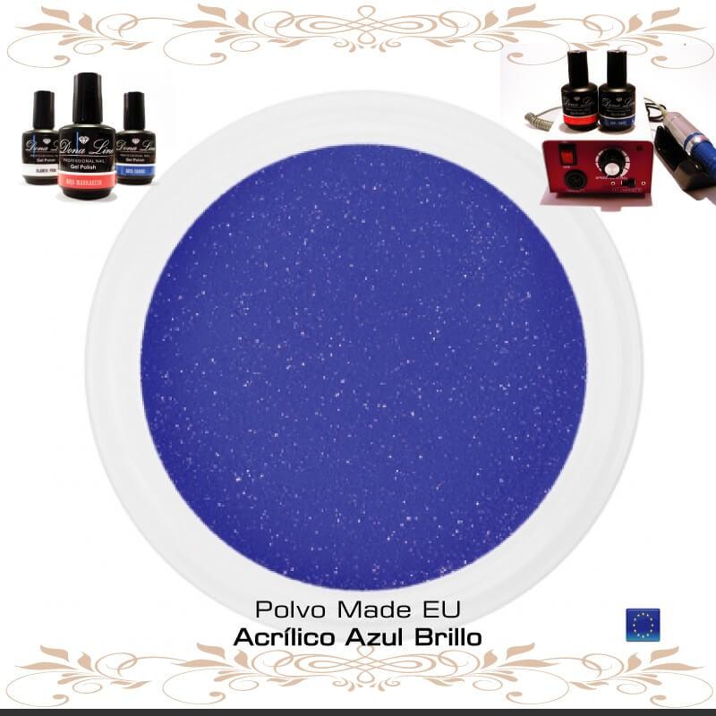 POLVO ACRILICO AZUL BRILLO - 3 Gr - TENERIFE