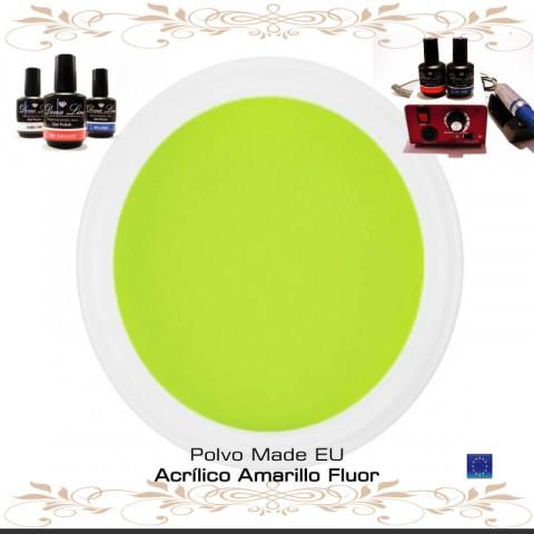 POLVO ACRILICO AMARILLO FLUOR - 3 Gr