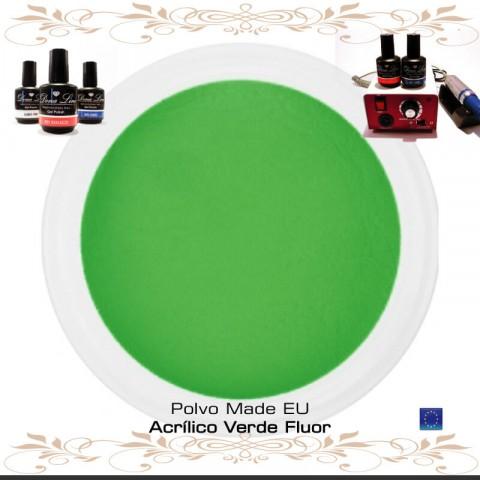 POLVO ACRILICO VERDE FLUOR - 3 Gr
