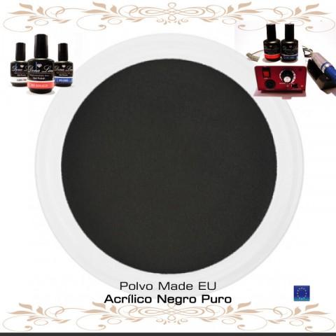 POLVO ACRILICO NEGRO PURO - 3 Gr