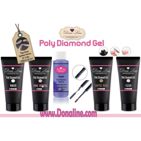 Kit Poli GEL Diamond Gel tenerife