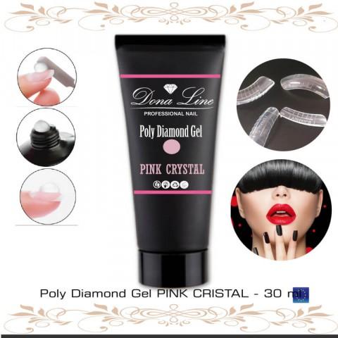 Poly Diamond Gel PINK CRISTAL - TENERIFE - ISLAS CANARIAS
