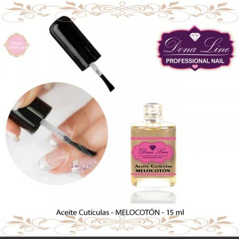 Aceite Cuticula - Aroma MELOCOTON 15 ml